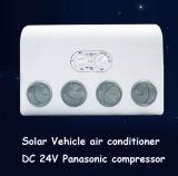 Precio solar del acondicionador de aire de las especificaciones 12V del carro para el coche de los alimentadores