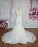 Nixe-Hochzeits-Kleid-Kleid Blumen-PUNKT 2017 Tulle