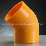 HDPE Pipe Fittings Butt Fusion Elbow 500mm SDR11
