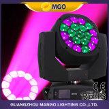 Kaleidoskopisches bewegliches Hauptauge K10 des Effekt-Licht-19X15W des Summen-LED der wäsche-B