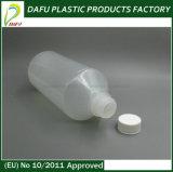 frasco plástico do PE 500ml para a medicina líquida