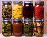 Verscheidenheid van Grootte om de het Grote Suikergoed van de Vorm/Kruik van het Voedsel van het Glas van de Metselaar van de Opslag van de Honing/van de Saus