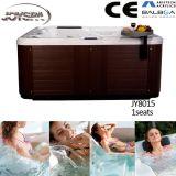 Baño al aire libre del torbellino del masaje, tina caliente de acrílico, bañeras del BALNEARIO