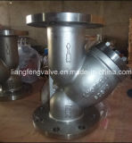 Y-Tamis d'acier du carbone 150lb avec l'extrémité de bride