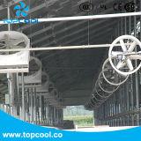 """50 """" ventilateur de panneau de recyclage de 1.5HP 460V 60Hz 3pH pour le bétail"""