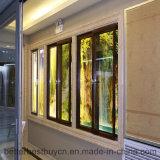 Alta calidad del diseño de la manera que resbala la ventana de aluminio