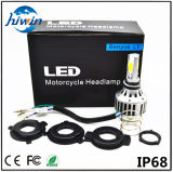 Luz de la motocicleta LED de Yourparts con 18W 24W luz blanca y azul de H4 (YP-Mini-H4)