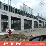Нержавеющая сталь покрывает здание Prefab дома стальное