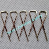 33mm Metal X Shaped Shirt Clips com alta qualidade