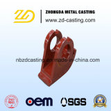 Moulage au sable d'acier allié de qualité pour des pièces de machines de construction
