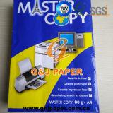 papel reciclado de la copia principal de la talla de 80GSM A4 para Garantie Ecriture
