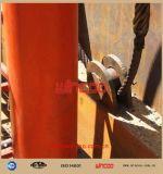 De levage hydraulique pour le réservoir/gerbeur automatique de réservoir/levage hydraulique de réservoir vers le haut des matériels de construction longitudinaux de système