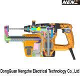 Machines-outils Nz30-01 avec le marteau rotatoire de système antivibration avec le dépoussiérage