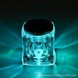 Luz personalizada da lâmpada do frasco da tabela do festival do cristal da cor