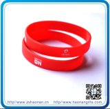 School (HN-SE-049)를 위한 싼 Gifts Rubber Wrist Band