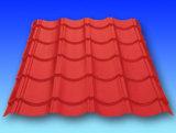 電流を通された鋼鉄母材が付いている波形の鋼板