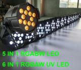 El disco DJ de la boda del aluminio 12PCS Rgbaw efectúa la iluminación