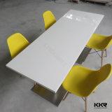 2 Sitzmoderner Möbel-Marmor-Stein-Muster-Esszimmer-Tisch