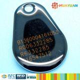Pvc RFID FM08 EpoxyKeytag van het Beheer ISO14443A van het Lidmaatschap van de supermarkt