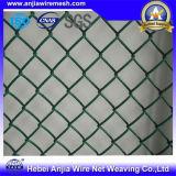 Загородки звена цепи ячеистой сети PVC цена Coated дешевое