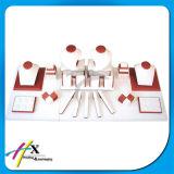 Crear la venta al por mayor de madera del soporte para requisitos particulares de visualización de la joyería