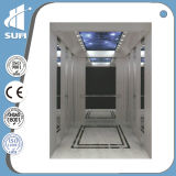 Steel inoxidable Cabin Capacity 400-2000kg Residential Elevator