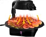 家庭電化製品の熱い販売800W屋内電気グリル(ZJLY)