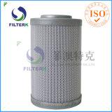 Acier inoxydable de cartouche de filtre à huile de Filterk Hc2216fkp4h dans filtre secteur