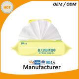 Дезинфектанты против Multi-Упорных Wipes Spunlace бактерий для сухих и влажных Wipes младенца