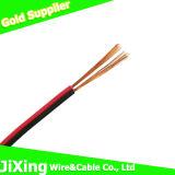 Cable eléctrico del Cu de Condctor del aislante rojo y negro del PVC