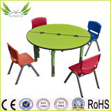 Redonda de madeira crianças com cadeira (SF-13C)