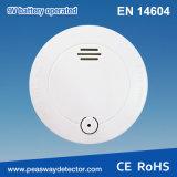 Detector de humos fotoeléctrico solo certificado En14604 del soporte (PW-509S)