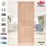 Hoja moldeada HDF/MDF de madera de la puerta de la haya