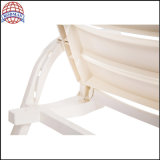 Witte Ligstoelen van Rodman & Bed het de Van uitstekende kwaliteit van het Strand