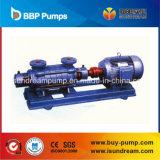 Pompe à plusieurs étages d'alimentation horizontale à haute pression de chaudière