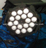 DMX 512 18 X 12W 5in 1 PC Indoor PAR Light del LED 4in1 18