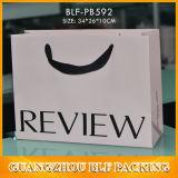 Sacs à provisions chauds de papier de vente (BLF-PB008)