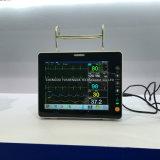 Портативная пишущая машинка комнаты ICU монитор стационарного больного Multi-Parameter 15 дюймов