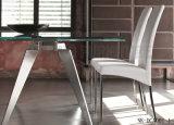 A poltrona de couro a mais nova do plutônio do projeto moderno para a sala de jantar (NK-DCA027)