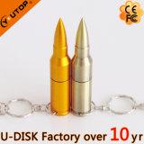 Cadeau promotionnel militaire de nouveauté de disque de flash USB de remboursement in fine en métal (YT-1224)