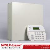 Zonas de GSM/PSTN/IP/GPRS 16 atadas con alambre y sistema de alarmas sin hilos de la seguridad casera