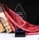 Самый лучший продавая пустой трофей пожалования кристаллический стекла для подарка дела