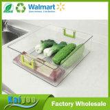 Organizador claro del almacenaje de la cocina de la maneta de Greent con el animal doméstico + los PP