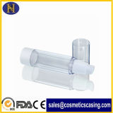 15ml 50mlのプラスチック明確で空気のない香水の液体びん