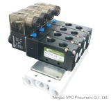 4V Series Pneumatic Directional 3 Position 5 Port Single Control Solenoid Valve Air Valve Pneumatic Valve