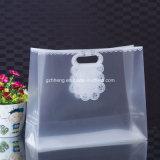 Sacco di plastica del regalo di nuovo disegno su ordinazione di offerta della fabbrica con la manopola della clip (sacco di acquisto stampato)