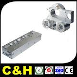 4 pièces en plastique en acier en aluminium non standard précises de fraisage de usinage de commande numérique par ordinateur d'axe