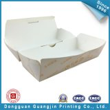 Het aangepaste Vakje van de Verpakking van het Voedsel van het Document van de Kleur (gJ-Box139)