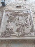 庭のための白い大理石の石造りの切り分ける彫像か彫刻