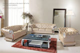 Sofa classico Chesterfield Leather Sofa per Home Furniture